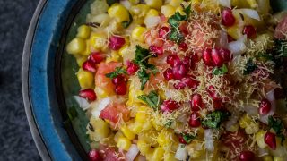 Corn bhel recipe - tickle your taste buds with this recipe