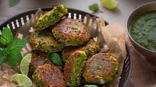 Paneer Matar Kabab Recipe (Green Peas Kebabs)