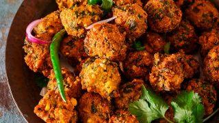 Methi Corn Bhajiya-Fritters