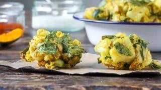 Baked Vegetable Pakora Recipe