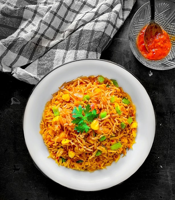 Easy Corn Fried Rice