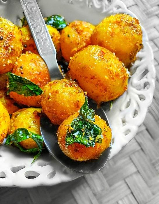 Indian Baby Potato Recipe