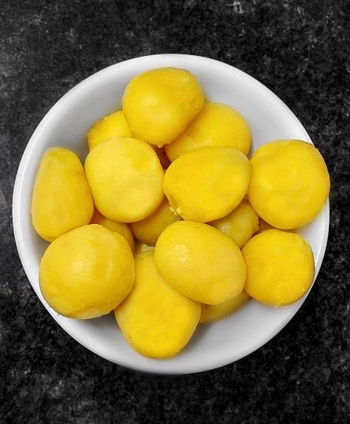 South Indian Potato ingredients