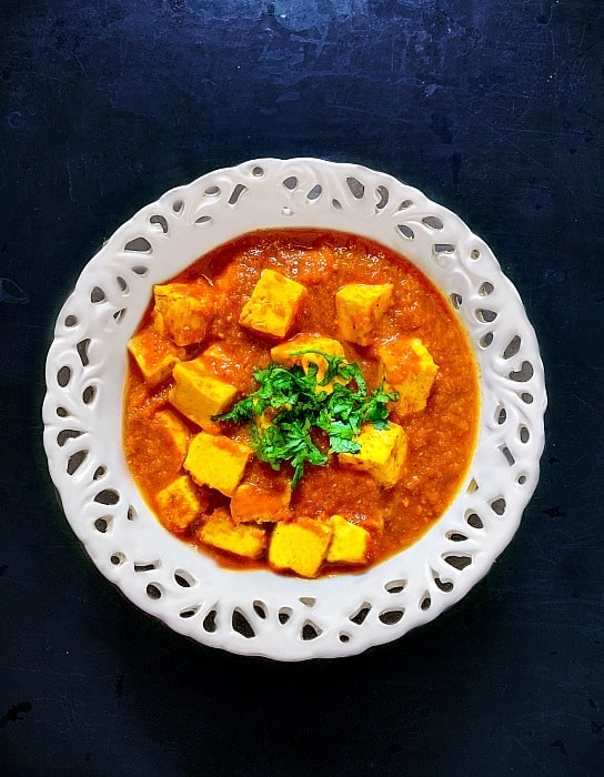 Indian Tofu Curry Recipe