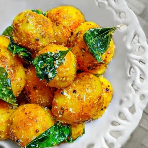 South Indian Potato Recipe 15 Minutes Recipe V Gf
