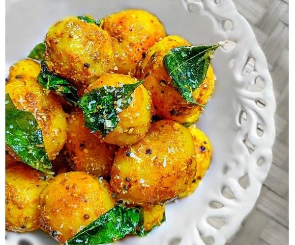 South Indian Potato Recipe (15 Minutes Recipe)