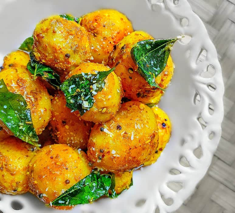 South Indian Baby Potato Recipe