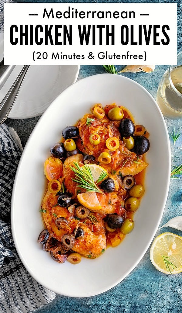 Quick Mediterranean Chicken with Olives Recipe