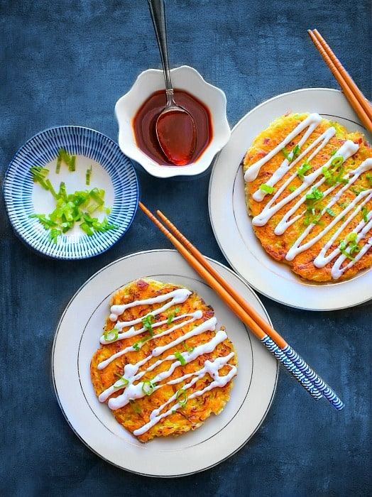 Okonomiyaki Japanese Cabbage Pancake