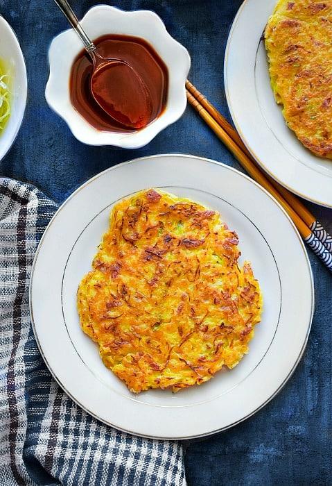Okonomiyaki Japanese Cabbage Pancakes - 4