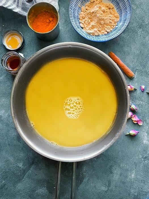 how to make Ashwagandha Turmeric Moon Milk recipe