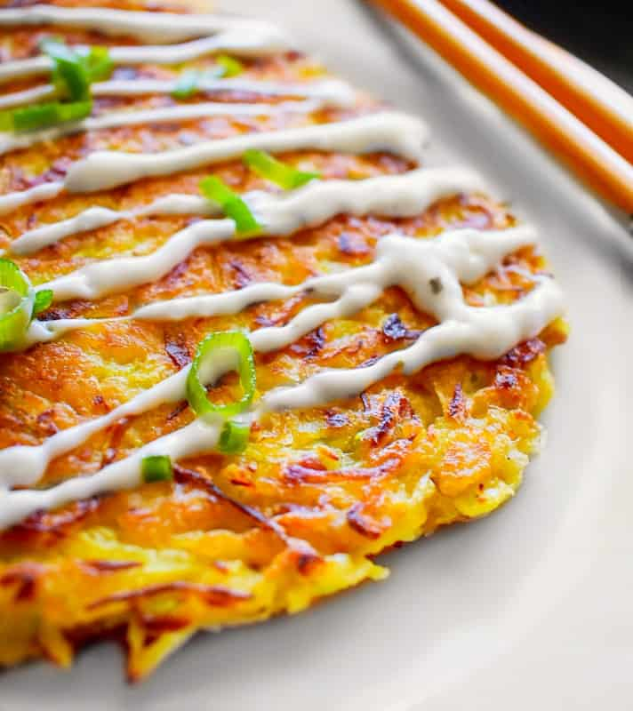Japanese Cabbage Pancake