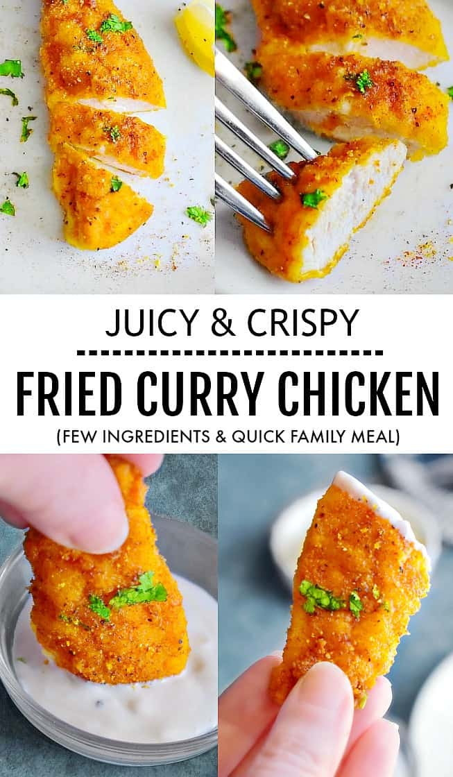 Crispy Fried Curry Chicken #crispychicken #friedchicken #currychicken
