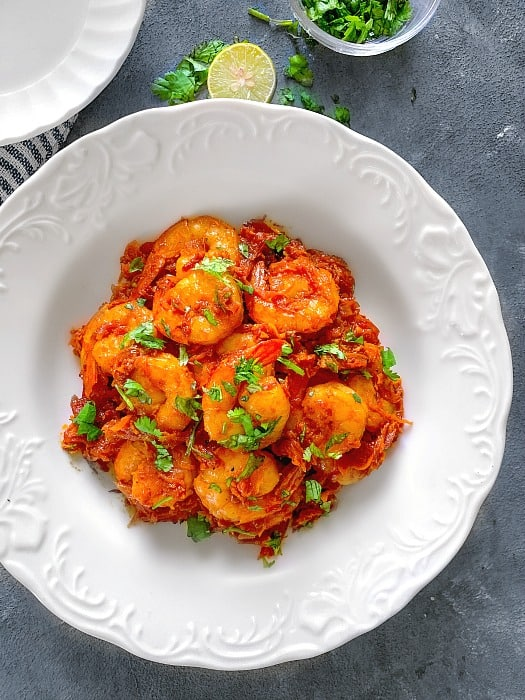 Shrimp Ghee Roast recipe keto