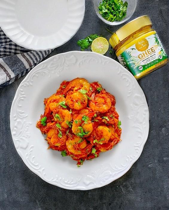 Shrimp Ghee Roast