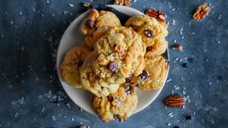Best Ever Chewy Coconut Chocolate Chip Cookies