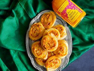 Butter Chicken Pinwheels recipe