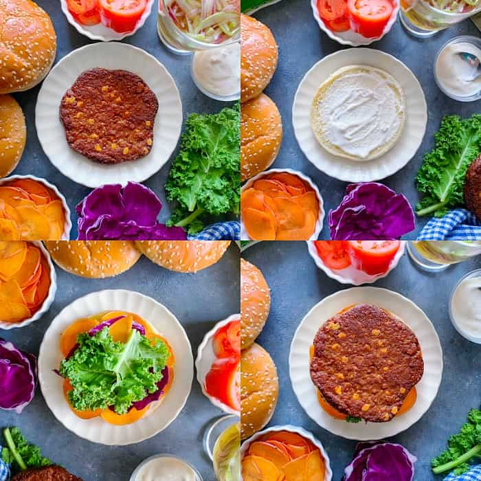 How to make Best-Fall-Veggie-Burger