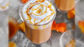 Toffee Salted Caramel Latte - 3 Minutes Coffeehouse Style