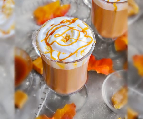 Toffee Salted Caramel Latte recipe