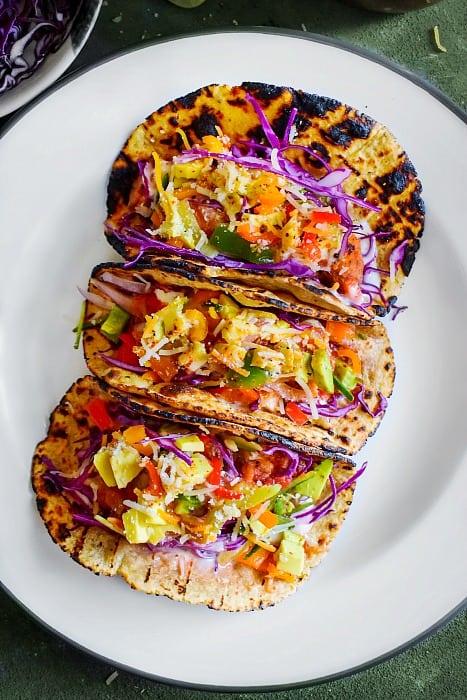 Baked Crispy Chicken Tacos