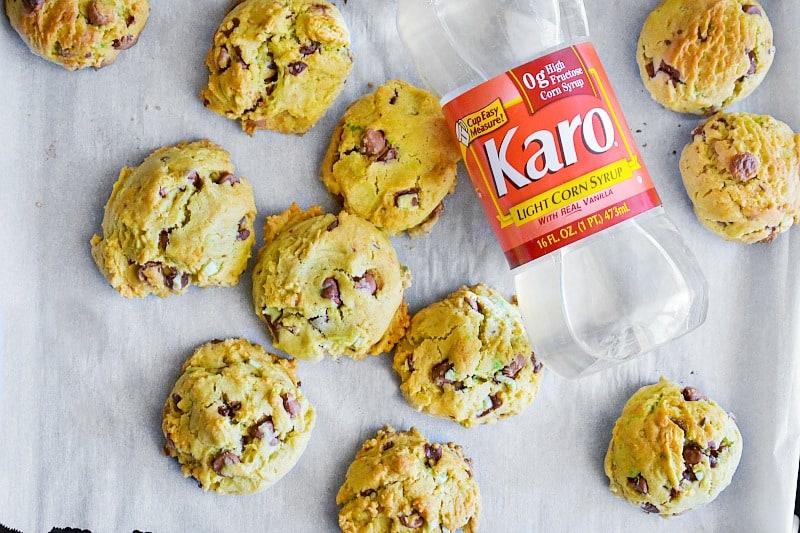 chewy karo cookies