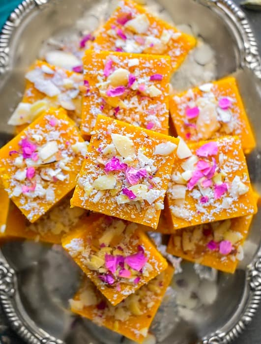 easy besan barfi for diwali