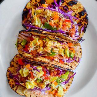 loaded Crispy Chicken Tacos recipe