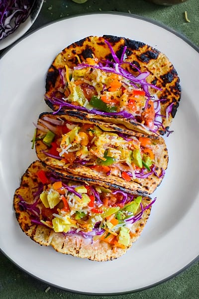 loaded Crispy Chicken Tacos recipe