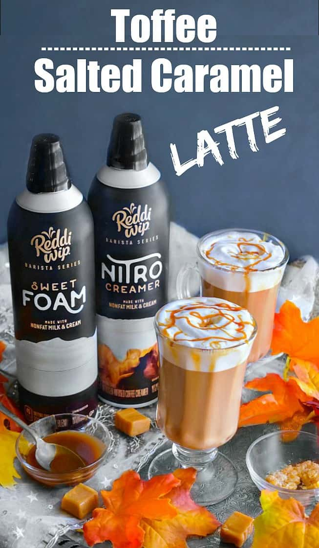 Toffee Salted Caramel Latte