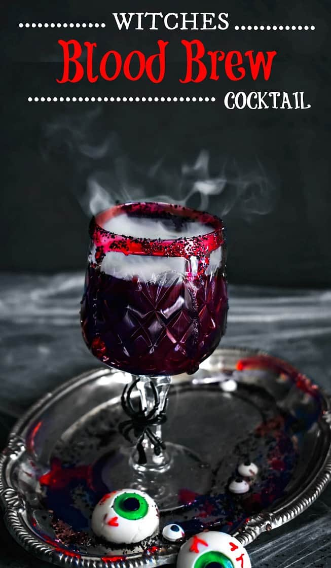 Witches Blood Brew Cocktail