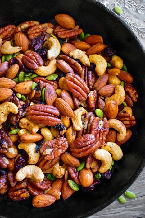 keto roasted mixed nuts