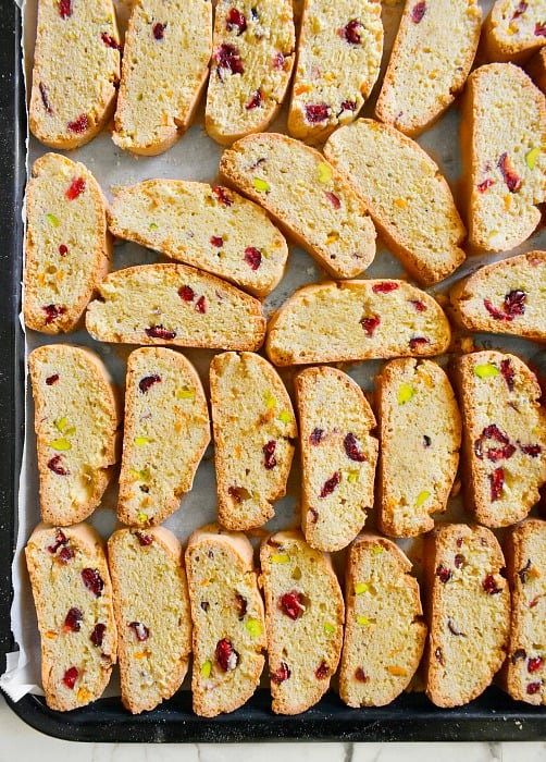 Pistachio Cranberry Orange Biscotti recipe-1