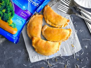 Spiced Turkey - Vegetable Hand Pies recipe