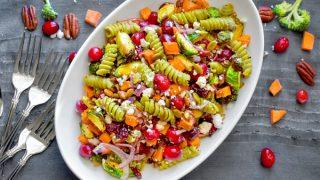 Easy Fall Pasta Salad