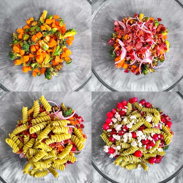 how to make Easy Fall Pasta Salad
