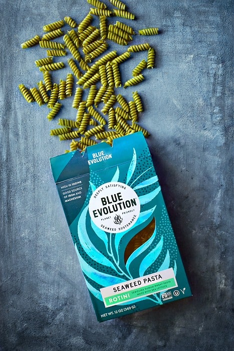 seaweed pasta - blue evolution