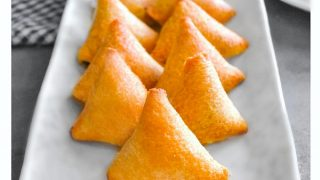 Bread Samosa Recipe - Fried, Baked and Air Fryer Version