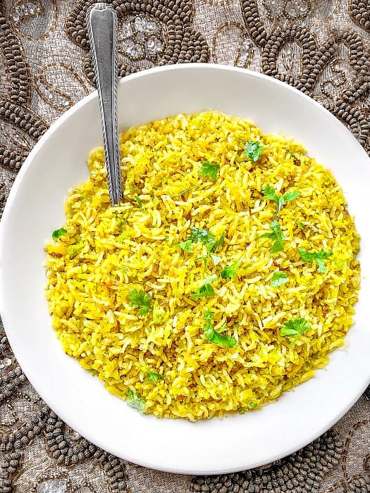 Turmeric Fried Rice Recipe
