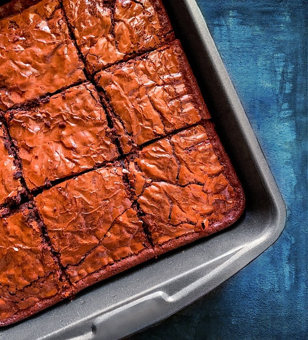 Boozy Bourbon Brownies