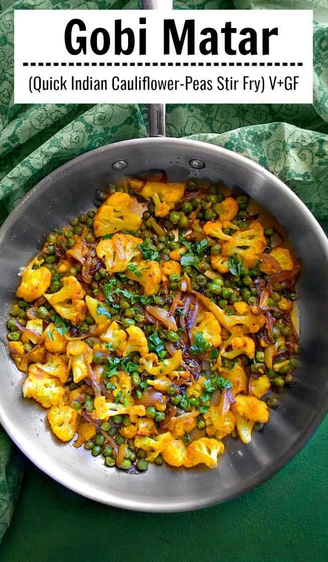 Gobi Matar Recipe