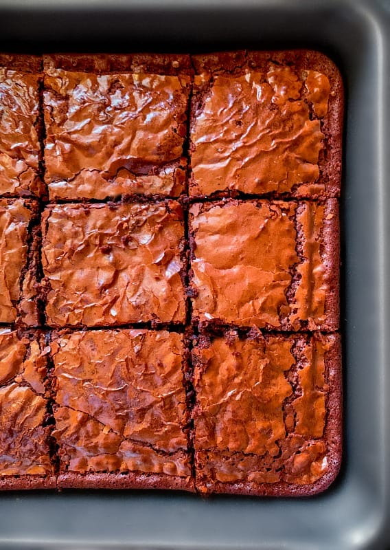 quick boozy brownie recipe