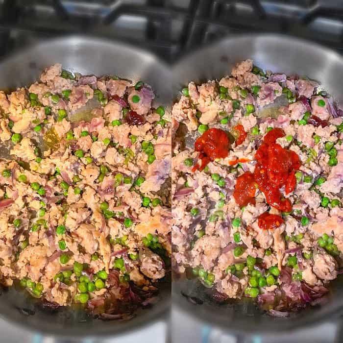 how to make Stir Fry Ground Turkey