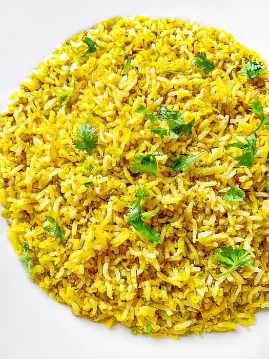 Turmeric Broccoli Fried Rice Recipe