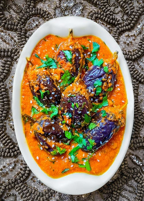 Bagara Baingan Recipe #bagarabaingan #eggplantcurry