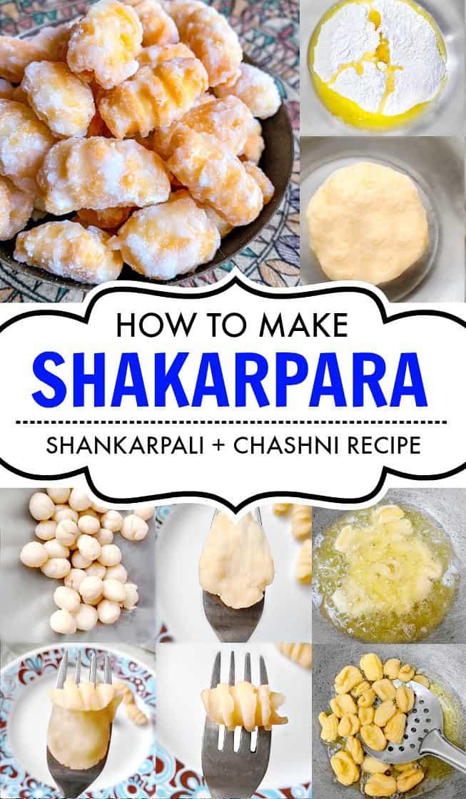 Shakarpara - Shankarpali Recipe - Holi Sweets #holisweets