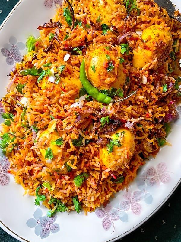 Pressure Cooker Mughlai Egg Biryani #eggbiryani #mughlai #biryani