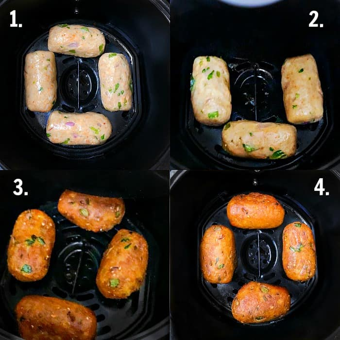 Air Fryer Bread Rolls - Baked Bread Rolls