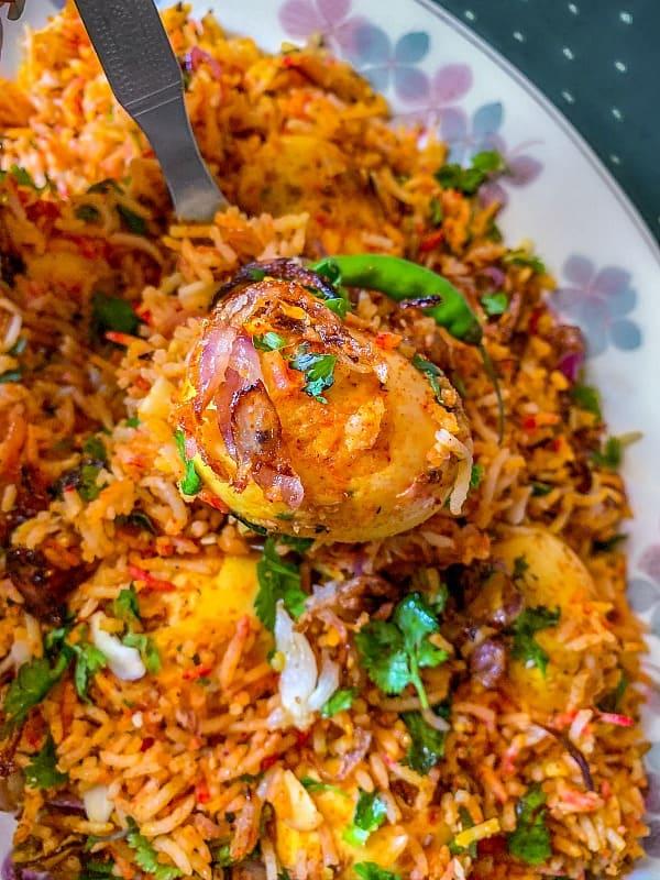 Anda Biryani Recipe #biryani #andabiryani