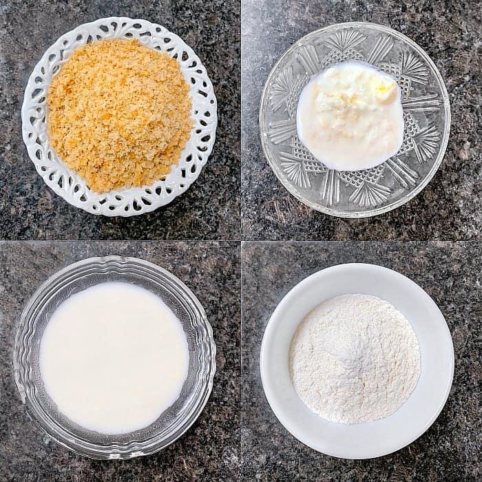 Bread Gulab Jamun Ingredients